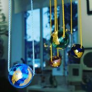 Glass-i Studio Golden Ball Pendant